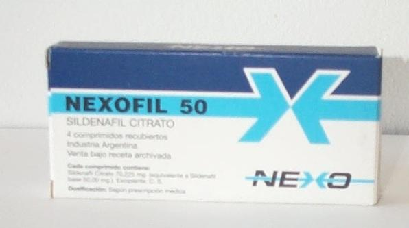 Nexofil 50/100mg Sildenafil Review: Unknown Brand with No Online Reputation
