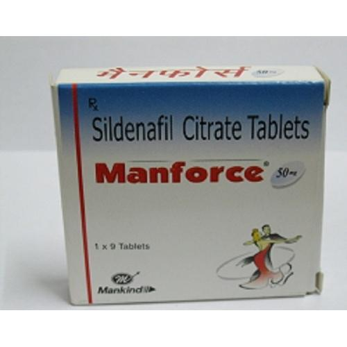 Manforce 50/100 Tablets Review: No Side Effects As Reported By Consumers