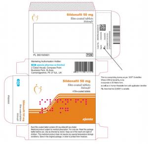 Sildenafil Ajanta by Ajanta Pharma UK limited