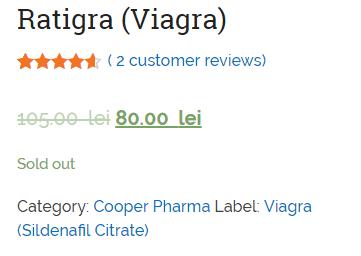 Ratigra Price