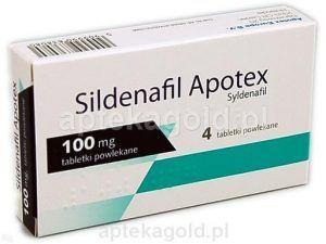 Sildenafil Apotex 100 mg Pack