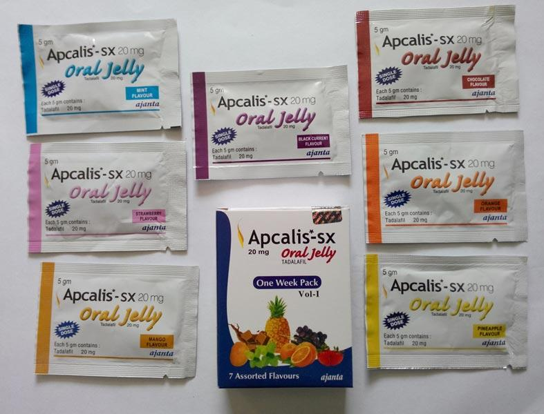 Apcalis-SX 20mg Oral Jelly Review: Effective Oral Jelly Treatment for ED