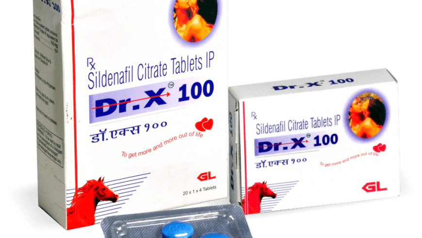 Dr. X 100 mg Sildenafil Citrate Tablets Review: Relatively Unknown Brand for Sildenafil in the Market