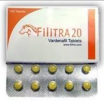 Filitra Vardenafil Tablets 20 Mg Review: Powerful Anti-Erectile Drug
