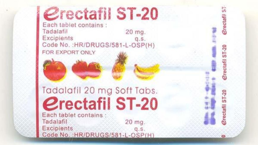 Erectafil ST-20 Review: Untrusted Drug From a Trusted Indian Pharmaceutical