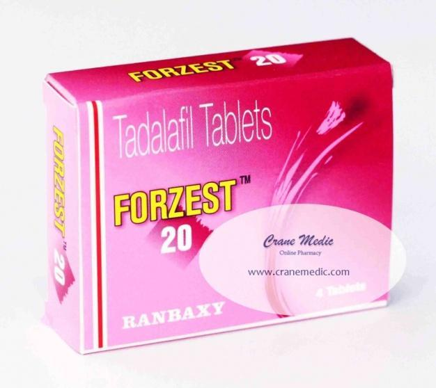 Forzest 20mg- Ranbaxy [Tadalafil] Review: Just Perfect in Treating Erectile Dysfunction