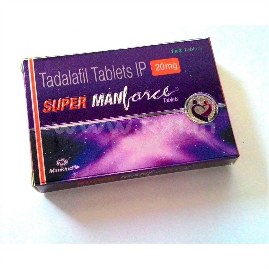 Manforce More 20mg Tablet Review: Invisible Generic Tadalafil Brand