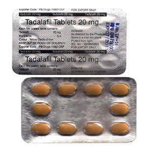 Tadalfil Generic Tablets