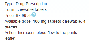 Rosytona 100 mg Chewable Tablets Price