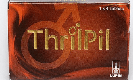 ThrilPil Tablet Lupin Review: Less Effective Solution for Men's Sexual Disorders