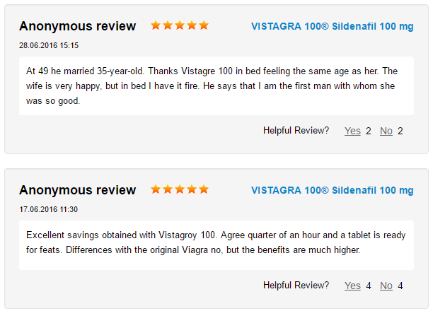 Vistagra Reviews