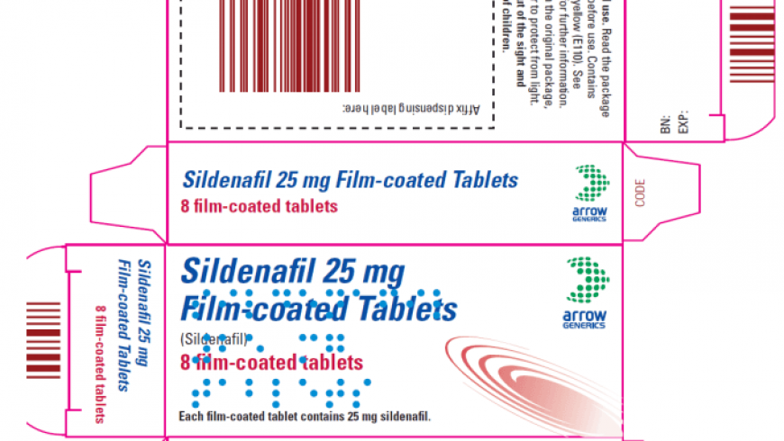 Sildenafil Arrow Review: No Supporting Data for This Brand's Efficacy and Safety