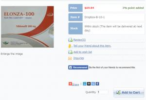 Elonza 100 mg Price
