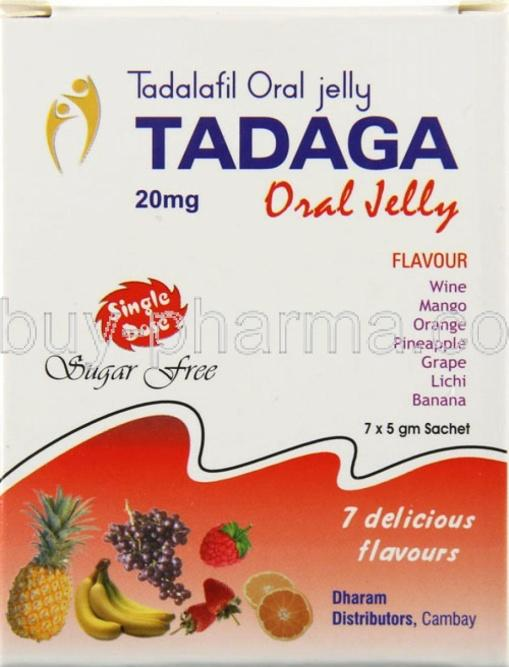 Tadaga Oral Jelly Review: Fairly Good Alternate to Expensive Brands of Tadalafil
