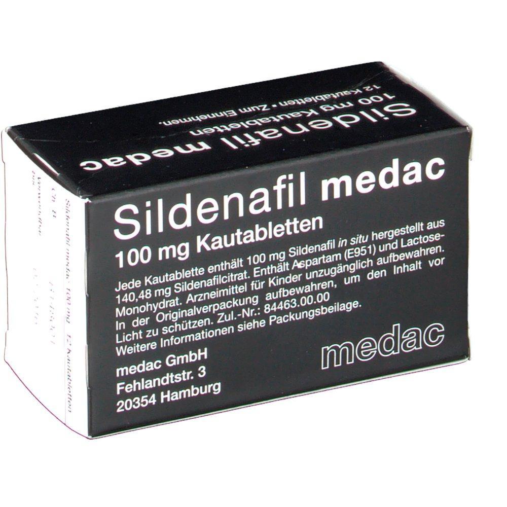 Sildenafil Medac 50/100mg Review: Unpopular Alternative of Sildenafil