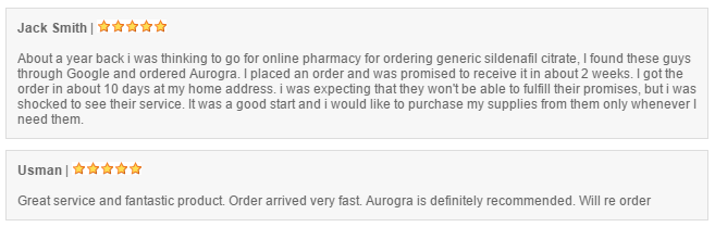 Aurogra Reviews