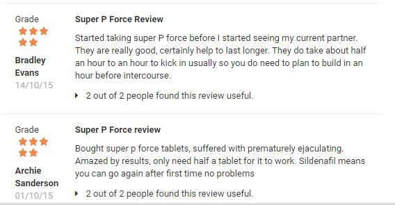 Super P-Force Reviews