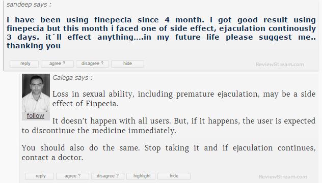 Finpecia Testimonial