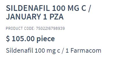 Sildenafilum Farmacom Cost