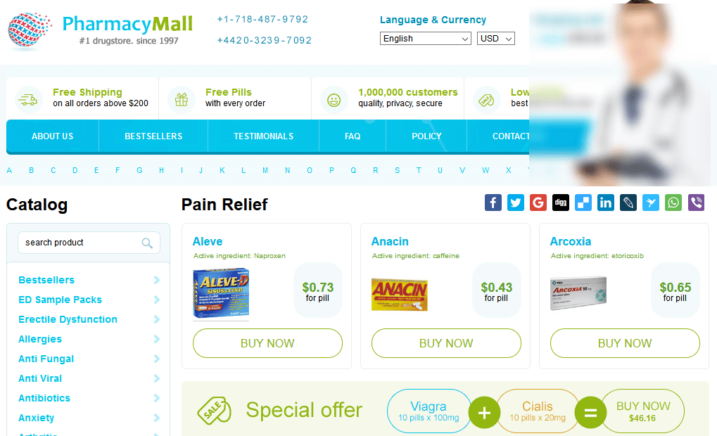 Pharmacy Mall Review – We Recommend Using this Good Pharmacy Network!