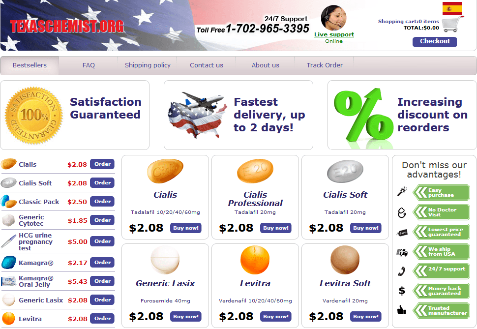 TexasChemist Review: An Online Network Offering Quality and Affordable Medications
