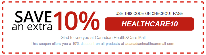 Canadian Health and Care Mall Coupon Code